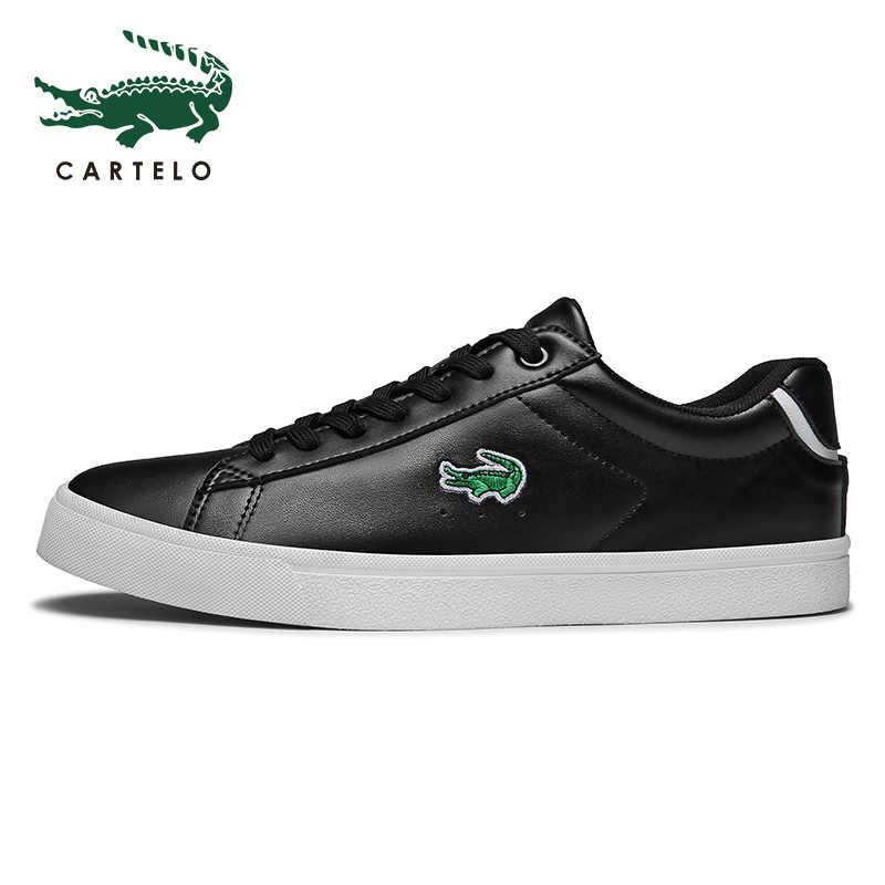 CARTELO erkek ayakkabıları ilkbahar ve sonbahar rahat ayakkabılar düşük üst sneakers erkekler tenis masculino