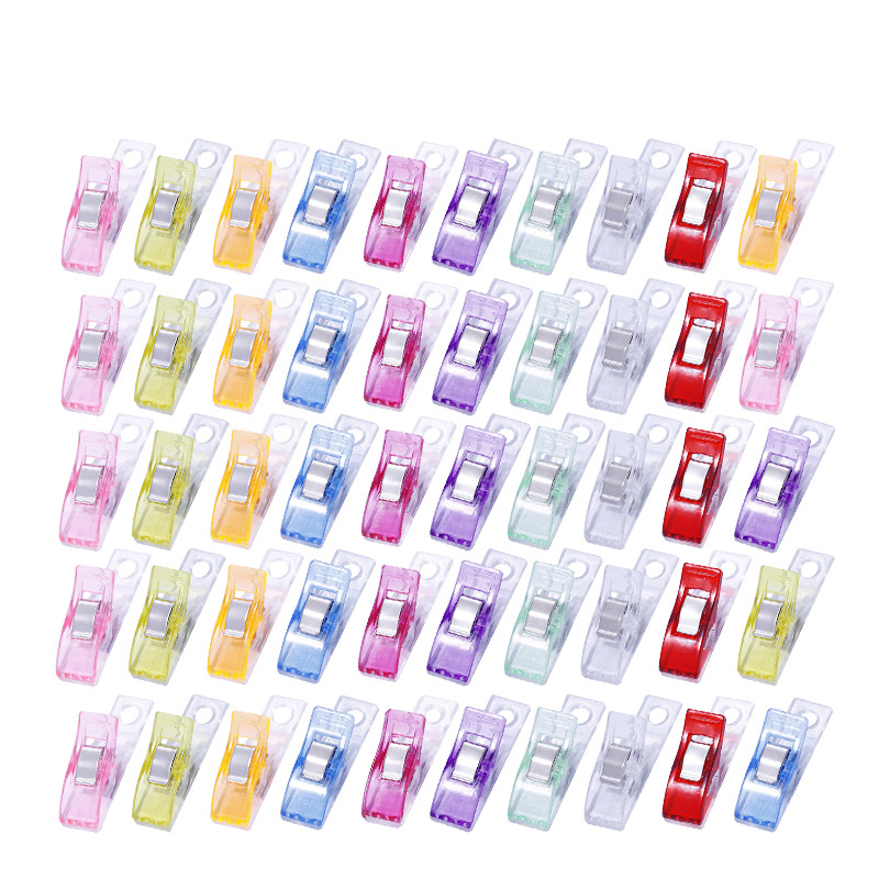 60pcs new patchwork crafts sewing strong edge clip ~!