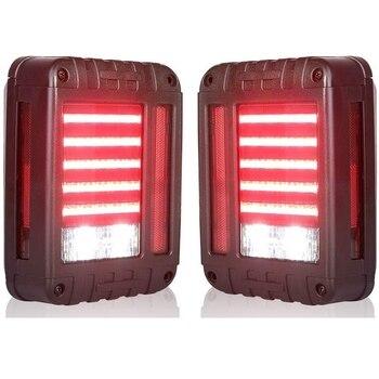 LED Tail Lights for 07-17 Jeep Wrangler Reverse Light Turn Signal Lamp Running Lights for Jeep Wrangler JK