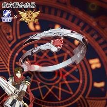 [Del re Avatar]Anime Anello In Argento Sterling 925 Action figure Yangyang Ye Xiu DNF Dungeon & Fighter Nuovo regalo alla moda
