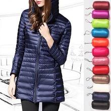 Sfit женское тонкое пуховое пальто легкий пуховик короткое зимнее пальто с капюшоном стеганая куртка зимнее пальто на молнии с воротником-стойкой
