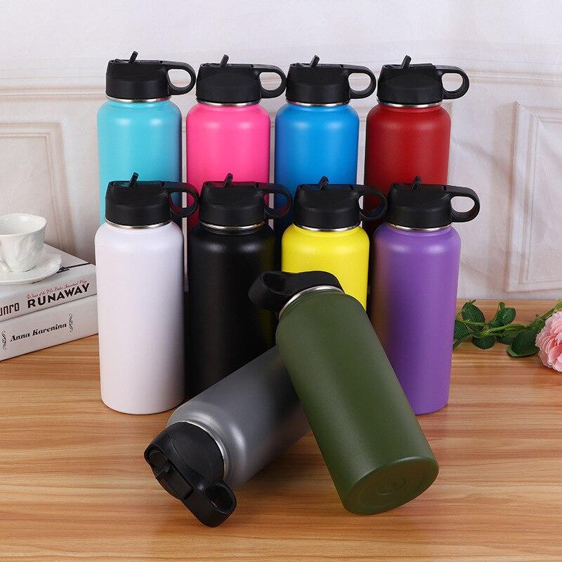 Solide originalité 304 bouteille d'eau en acier inoxydable à l'extérieur Deportes Will capacité conservation de la chaleur flacons sous vide & Thermos