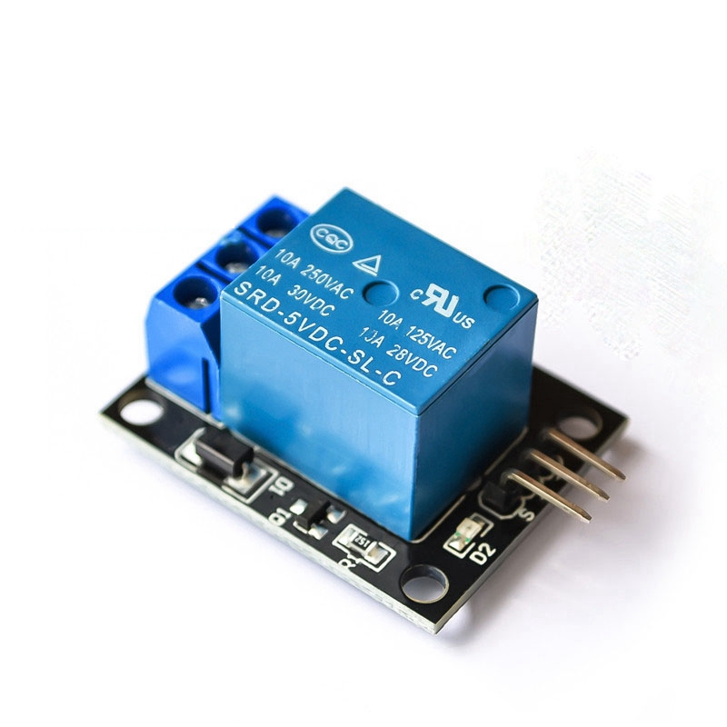 KY-019 <font><b>5V</b></font> One 1 Channel Relay Module Board Shield For PIC AVR DSP ARM for arduino Relay image