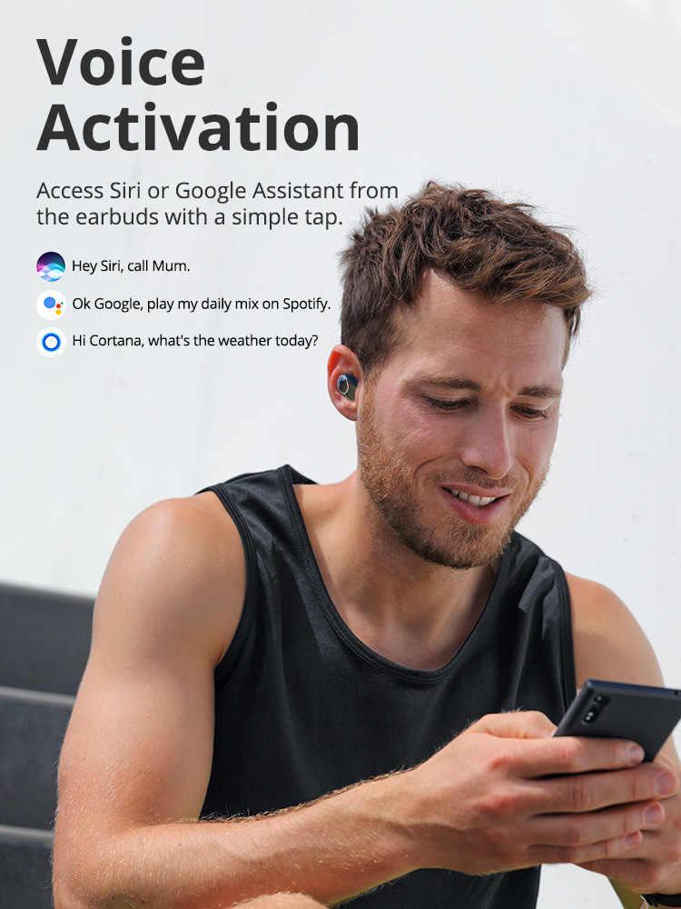 [Nueva versión] auriculares inalámbricos Tronsmart Onyx Neo TWS Bluetooth con Chip Qualcomm, aptX, Control de volumen