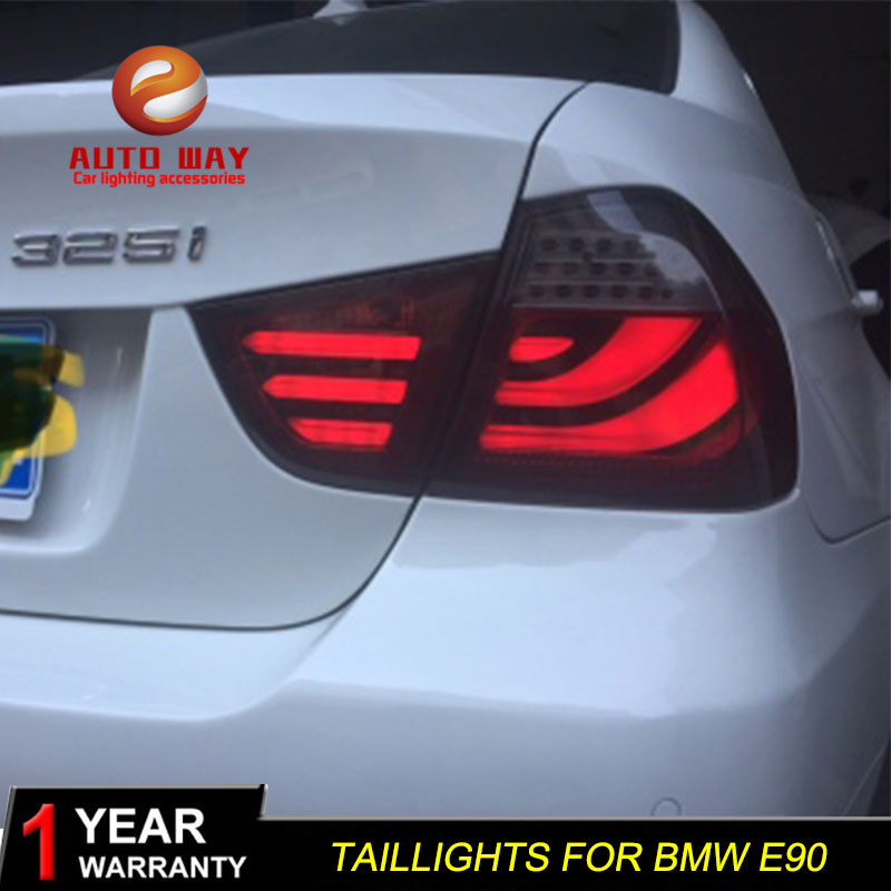 Car Styling case for BMW E90 Taillights 318i 320l 325l 330 e90 Tatilight 2009-2012 LED Tail Light LED Rear Lamp Certa taillight image