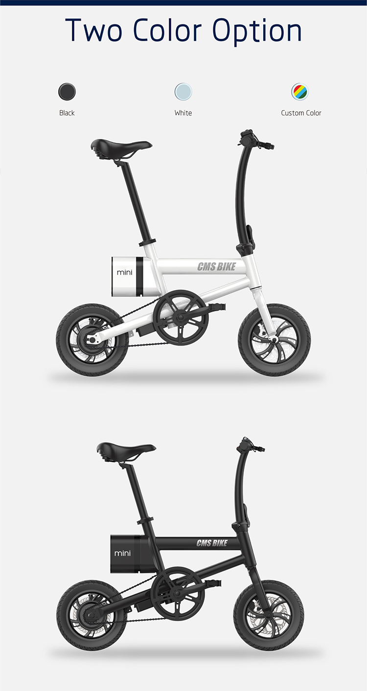 12 inch folding electric bicycle with LED displayer urban ebike 9