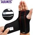 AOLIKES 1 шт. регулируемый браслет, стальной браслет, поддержка запястья, поддержка пальца, шина, кистевой туннельный синдром