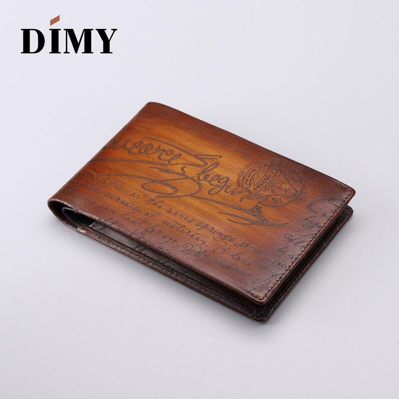 2019 Dimy passeport sac cuir billet porte-passeport Anti-vol brosse multi-fonction grande capacité voyage Document paquet - 2