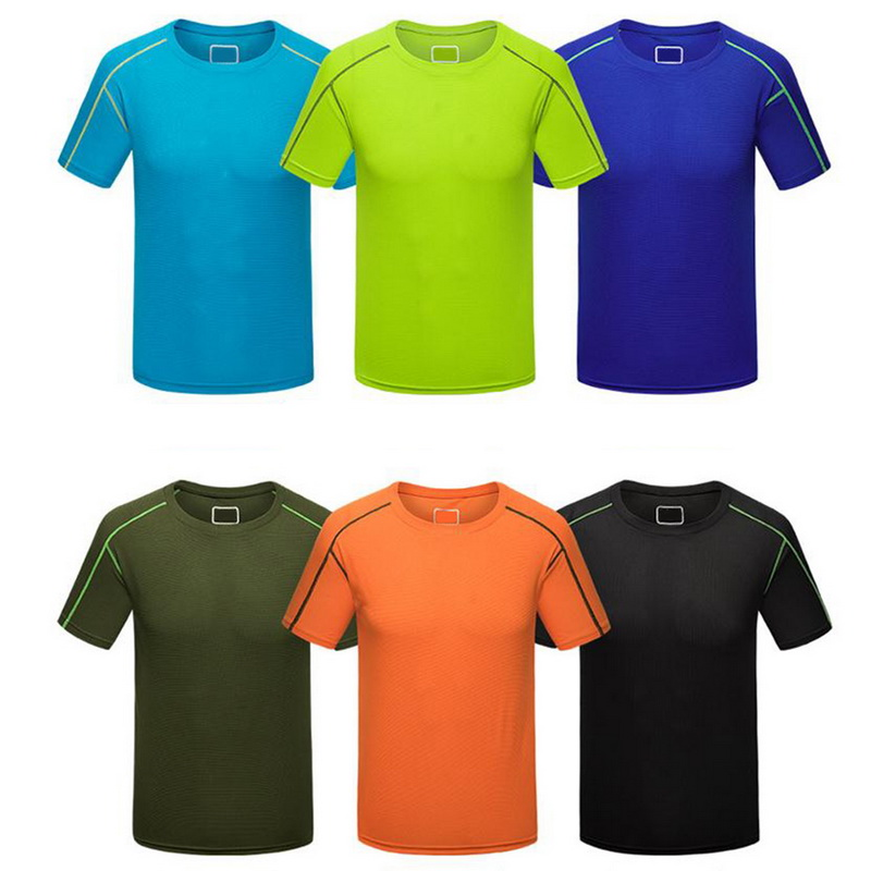 running - Men Running T-shirt Tights Fitness Gym Top Tees Shirt Fitness Workout Gym Quick Dry Homme Soccer Sport T Shirts
