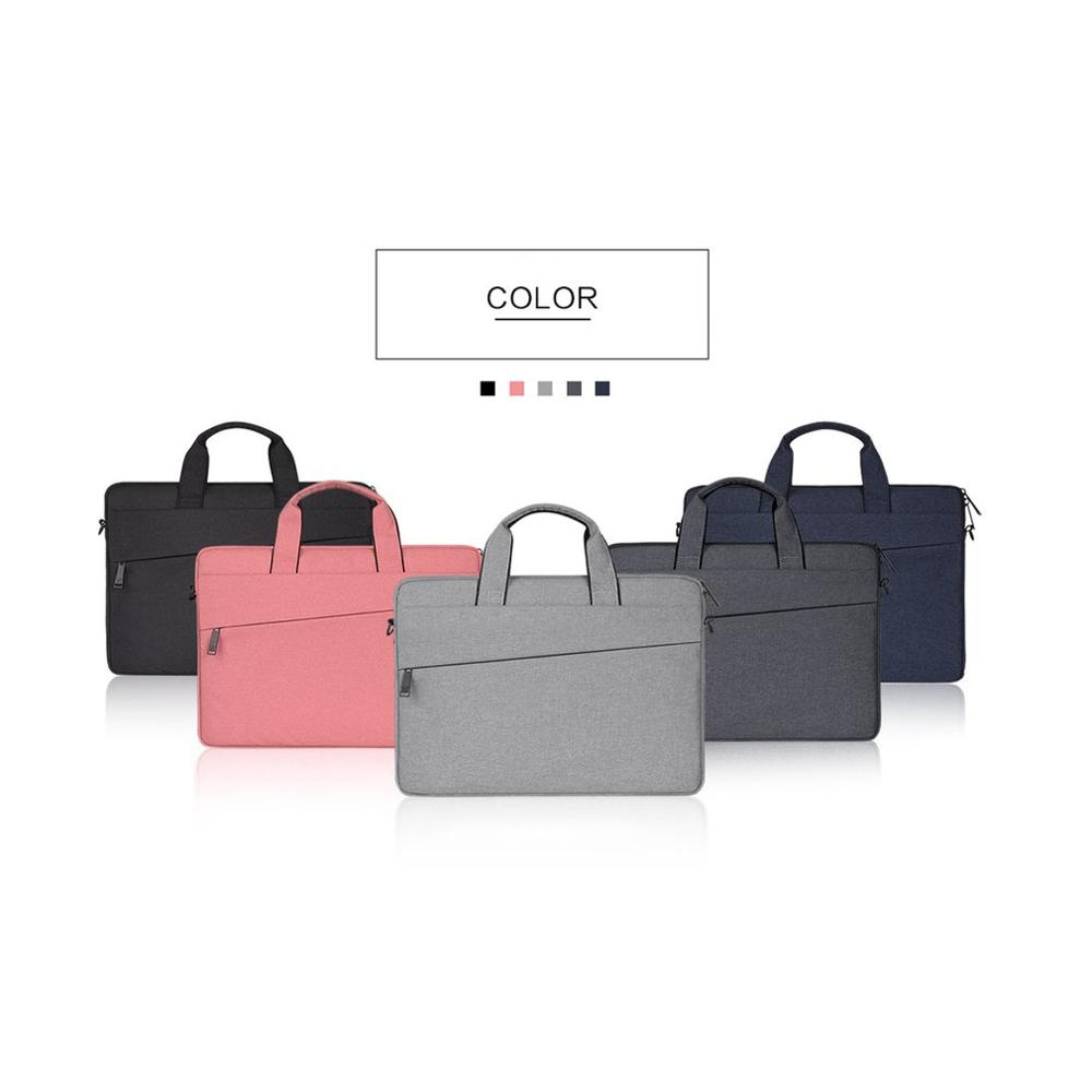 Handle Design Oxford Cloth Business Style Trendy Laptop Notebook Sleeve Case Carry Bag Shockproof Handbag Suitable For Macbook