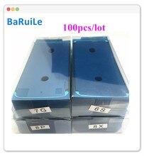 BaRuiLe 100pcs עמיד למים 3M דבק עבור iPhone 6S 7 8 בתוספת X 8 P XS Max XR 11 XSM מדבקת LCD מסך מסגרת קלטת תיקון חלקים