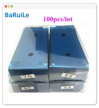 BaRuiLe 100 sztuk wodoodporny 3M klej do iPhone 6S 7 8 Plus X 8 P XS Max XR 11 XSM naklejki ekran LCD rama taśmy naprawy części