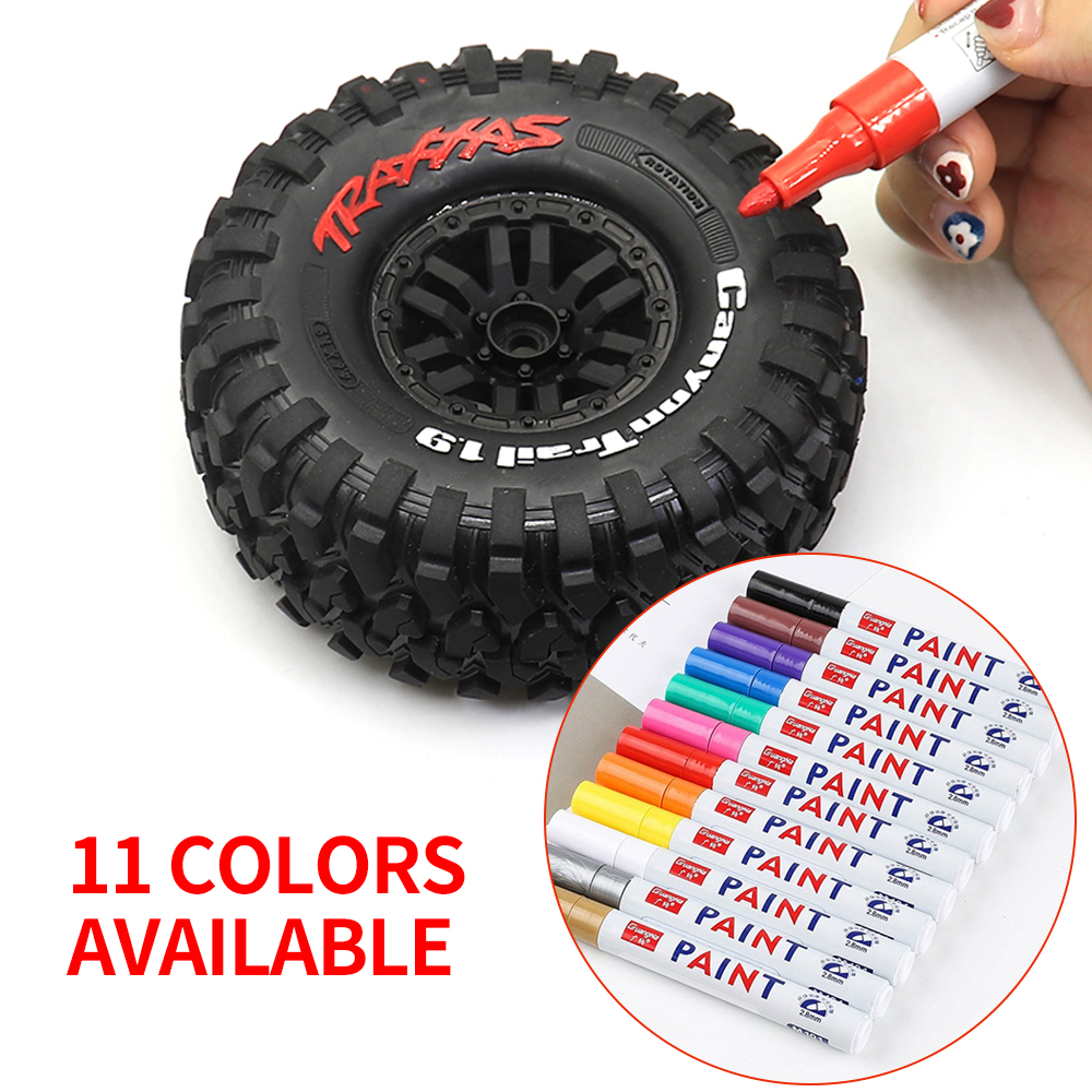 RC car accessories Tires Tire coloring coloring Paint Marker Drawing Pen Tool for RC Car Crawler Traxxas TRX4 G500 Axial SCX10