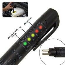 Автомобильный тестер тормозной жидкости для автомобиля диагностический инструмент 5 светодиодов точный контроль качества масла ручка цифровой тестер инструмент для ремонта