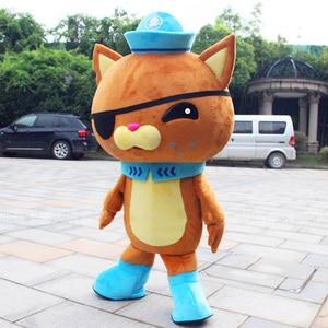 Ocean Fish Mascot Police Mascot Costumes Adult Size
