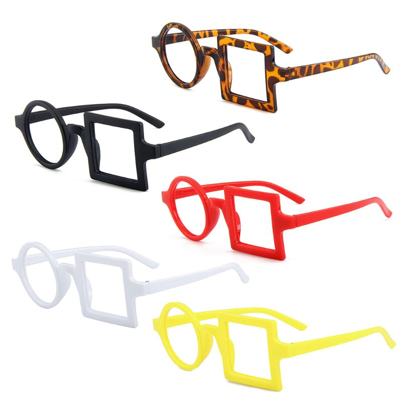 Fashion Baby Children Kids Cute Birthday Party Eye Glasses Frames Photo Props 2-6 Years Old