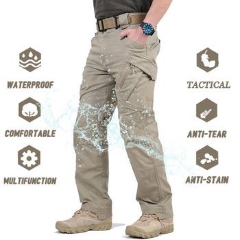 IX9 City wodoodporne spodnie taktyczne męskie SWAT bojowe spodnie wojskowe Casual Men spodnie do wędrówek pieszych spodnie na zewnątrz Cargo spodnie wojskowe tanie i dobre opinie Cargo pants CN (pochodzenie) Pełnej długości Mieszkanie REGULAR COTTON 29 - 40 Midweight Suknem NONE W stylu Safari Zipper fly