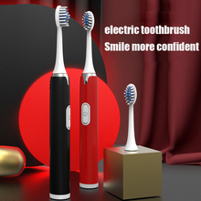 Tooth-Brush Electric Whitening Sonic Adult Rechargeable USB Relax Powerful