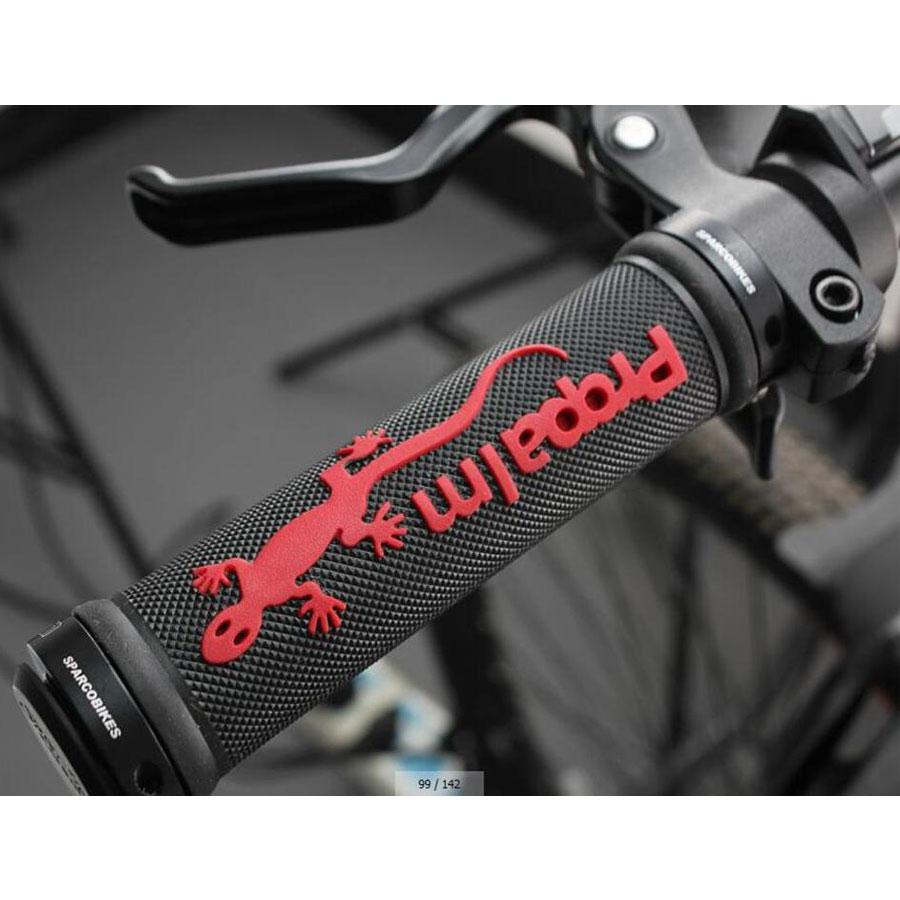 Propalm Bicycle Handle Grips TPR Rubber Bike Grips Skid-Proof Ergonomic Cycling Grips Mountain Road Bike Handlebar Manopole Bici