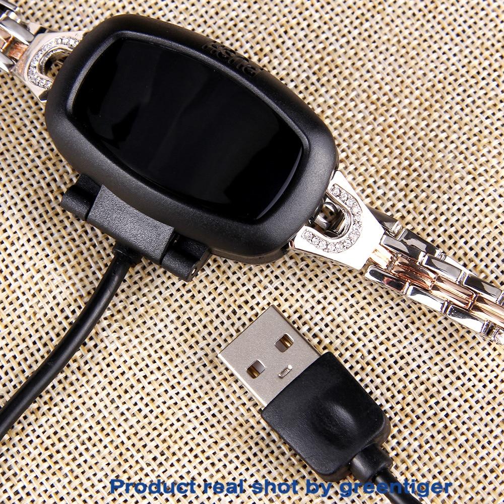 H7058b6f2164149efa916f68569632f25V Greentiger H8 Smart Bracelet Women Activity Fitness Tracker Heart Rate Monitor Blood Pressure IP67 Waterproof Smart Wristband