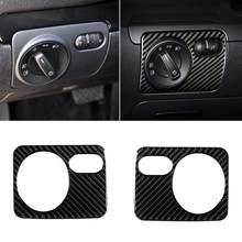 80% gran oferta! Faro de coche interruptor marco de Control etiqueta adecuado para VW Golf 6 R MK6 Scirocco 09-16
