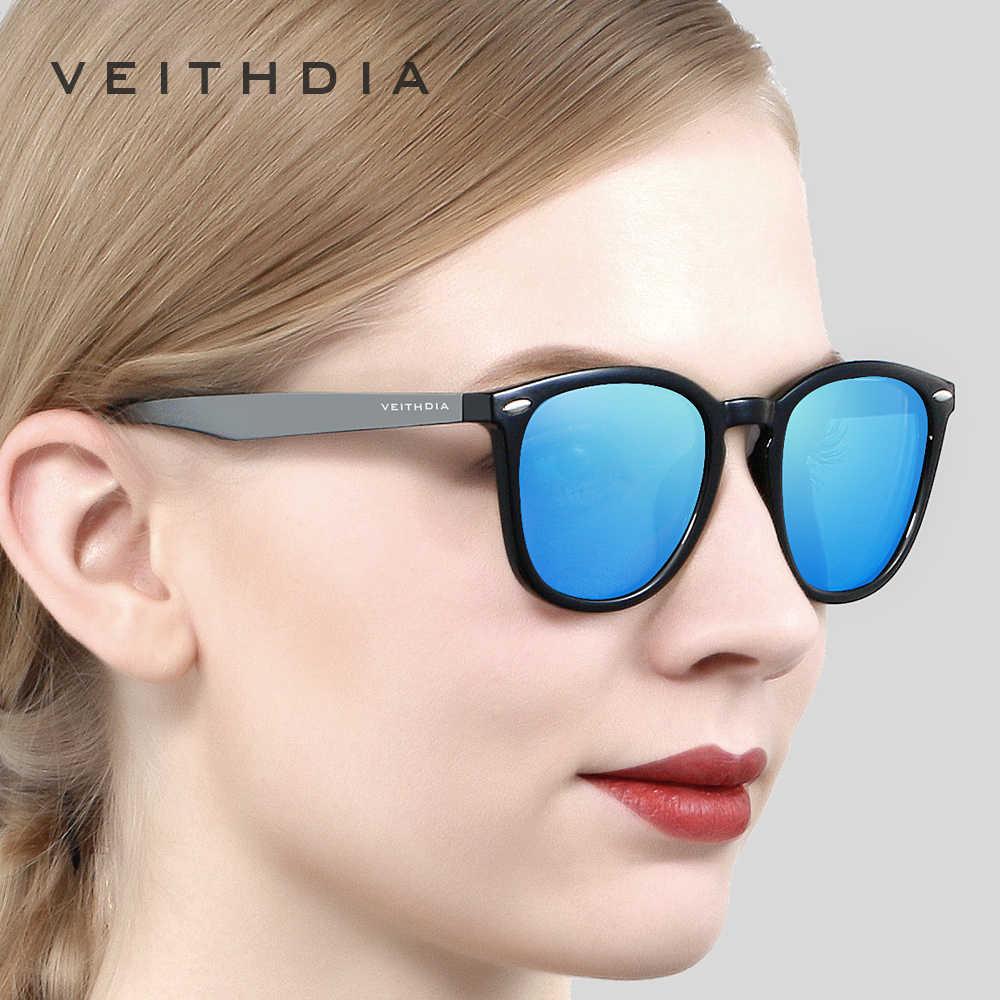 VEITHDIAยี่ห้อUnisexอลูมิเนียม + TR90 ผู้ชายPhotochromicกระจกดวงอาทิตย์แว่นตาแว่นตาอุปกรณ์เสริมแว่นตากันแดดสำหรับผู้หญิง 6116