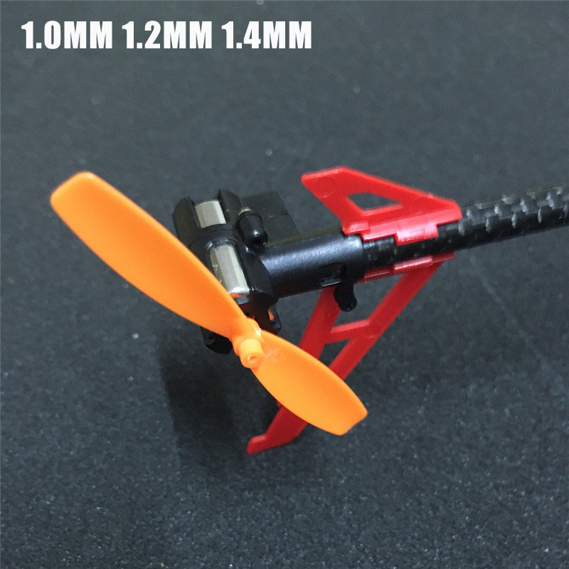 Newest 2PCS 1.0mm 1.2mm 1.4mm Diameter Tail Blade For XK K120 K130 ALIGN 150X 150DFC HCP100S RC Helicopter
