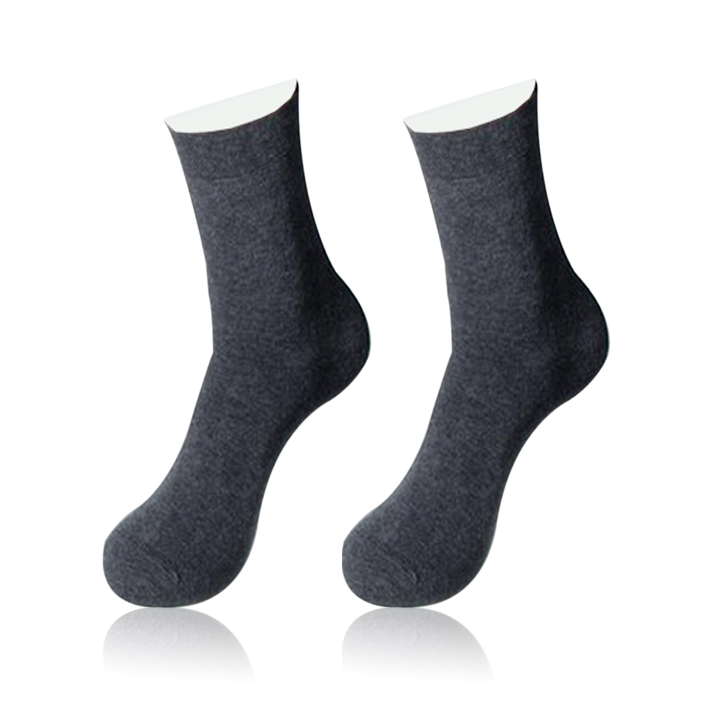 3Pairs Men Summer Socks High Quality Business Casual  Socks Breathable Bamboo Male Men's Soft Mid Socks Fashionable  Health