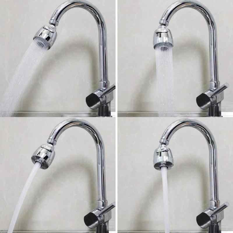 360 obrotowy wygięty perlator wody Aerator filtr dyszy kranowej głowica skrętna wody kuchnia kran złącze części domu