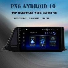 "Dasaita 9 ""Android 10.0 araba radyo Toyota 2016 2017 2018 C HR CHR 1 Din DSP oyuncu IPS ekran GPS Navi 4GB + 64GB TDA7850 MAX10"