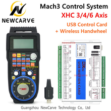 Breakout-Board Handwheel Motion-Control-Card NEWCARVE 4-6axis USB XHC 3 MKX-V with WHB04B