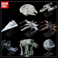 Banbai star wars 9 galáctico império star destroyer x-wing starfighter executor at-at montagem modelo coleção brinquedos