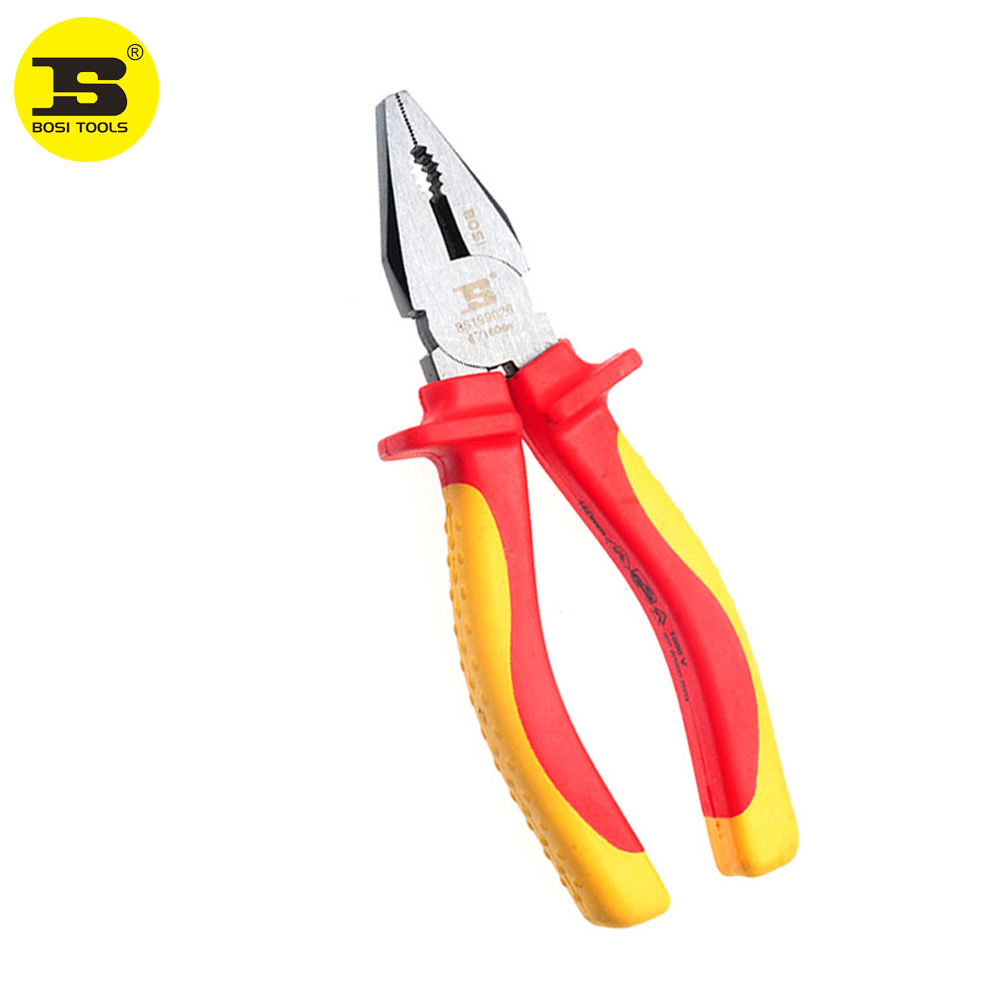 "6/"" 160mm Cable Wire Cutter Crimper Stripper Plier Ratchet Crimping Hand Tool New"
