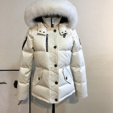 Hot Quality Real Fox Fur Winter Womens Canadian Mosenkucs 3Q Parka Down Jackets Warm Outdoor Coat Windproof Waterproof Short