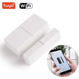 Image 3 - Tuya Smart WIFI Magnetic Door Window Sensor Open Alarm Entry Alert Security Detector Remote Control Smart Life Alexa Google Home