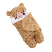 Blanket Receiving Sleeping-Bag Swaddle Nursery-Wrap Newborn Baby Infant Ultra-Soft 3M