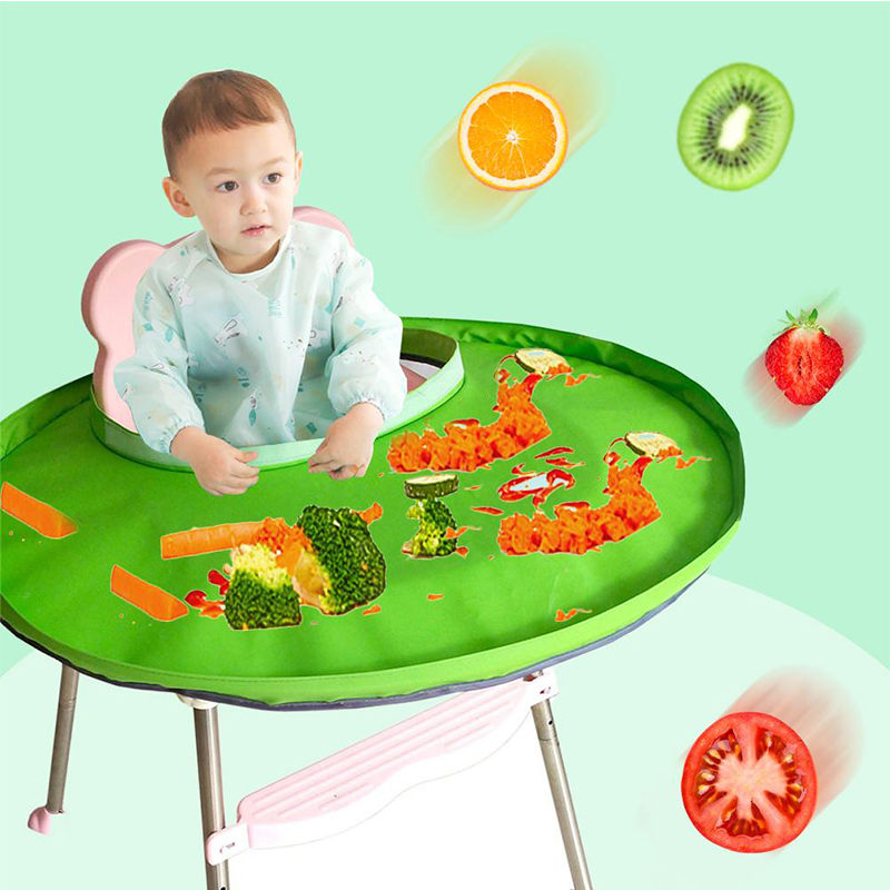 Baby Chair Food Children's Chair For Feeding Heighten Dining Chairs For Babies Portable Foldable Kids Dining Cover For Highchair