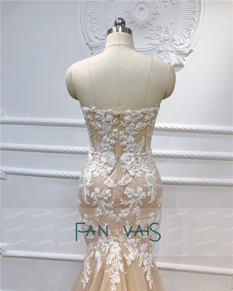 Купить с кэшбэком Mermaid Evening Dresses Long 2020 Beads Prom Dresses Vestido de fiesta Longo Robe de soiree abendkleider Formal Party Dress