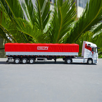 1/50 Scale alloy container NOMA balustrade truck freight shipping model metal diecast vehicle toys children collection display