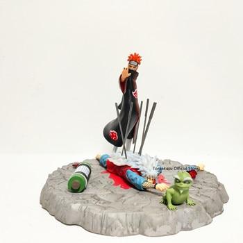 Naruto Statue Pain VS Jiraiya Dead PVC Action Figure Naruto Shippuden Anime Figurine Pain Jiraiya Dead Collectible Toys