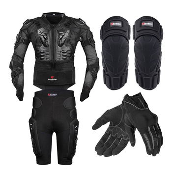 HEROBIKER Motorcycle Jacket Full Body Armor Motorcycle Chest Armor Motocross Racing Protective Gear Moto Protection S-5XL wosawe motorcycle armor jacket motocross body protector ghost racing riding moto protective guard armor chest back protection