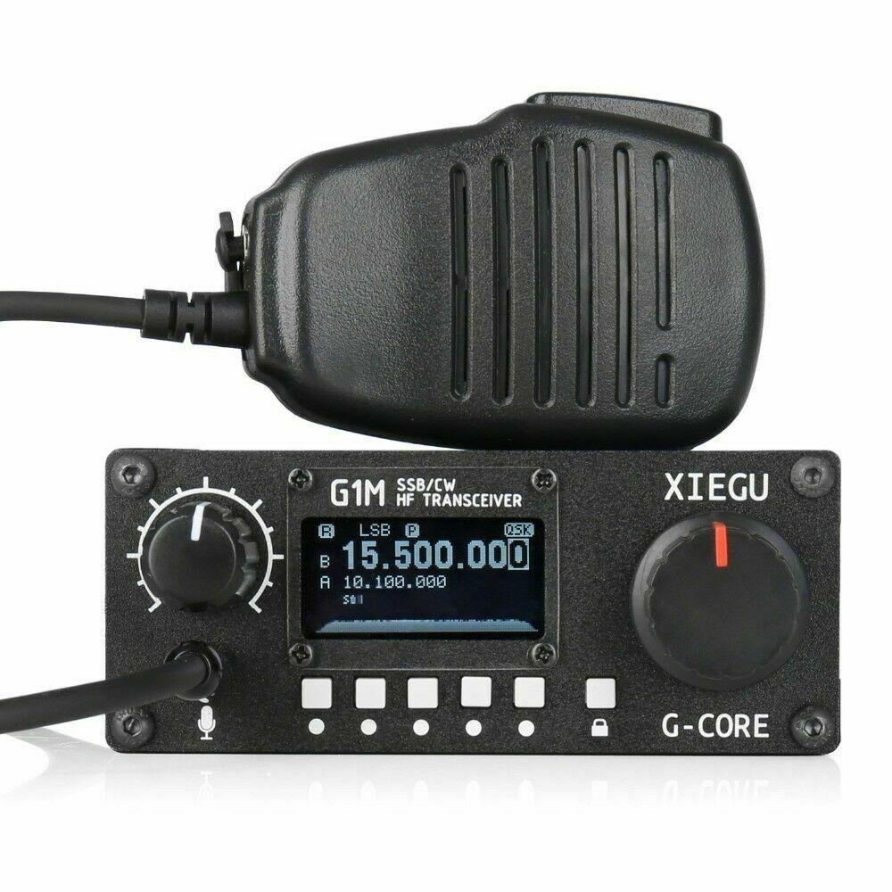 2019 Ultime G-CORE SDR Radio Amatoriale XIEGU G1M SSB/CW 0.5-30MHz Moblie Radio HF Transceiver Ham QRP