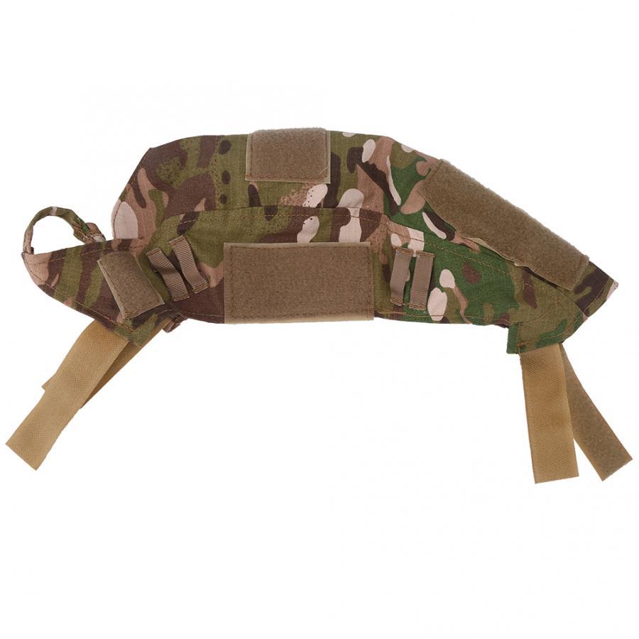 1 шт., 2 цвета, чехол для быстрого шлема для охоты, пейнтбола, боевого камуфляжа, чехол для быстрого шлема, аксессуары для охоты