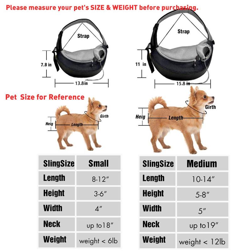 Bolsa de hombro para perros 9