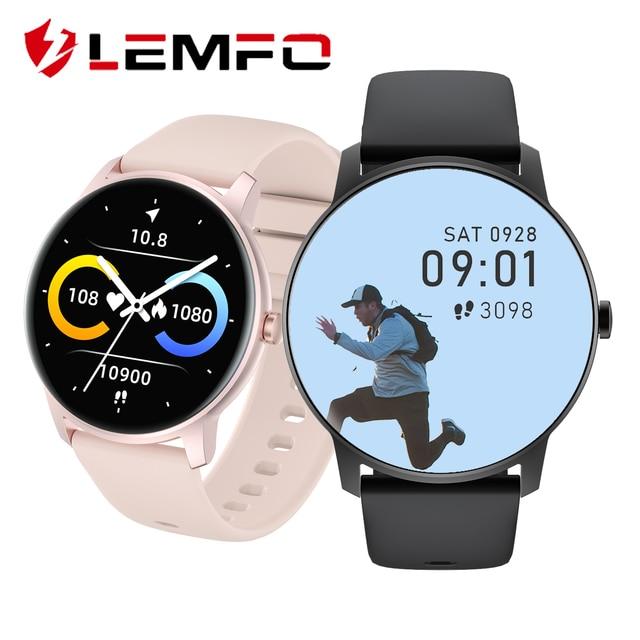 Смарт-часы Lemfo KW77 1