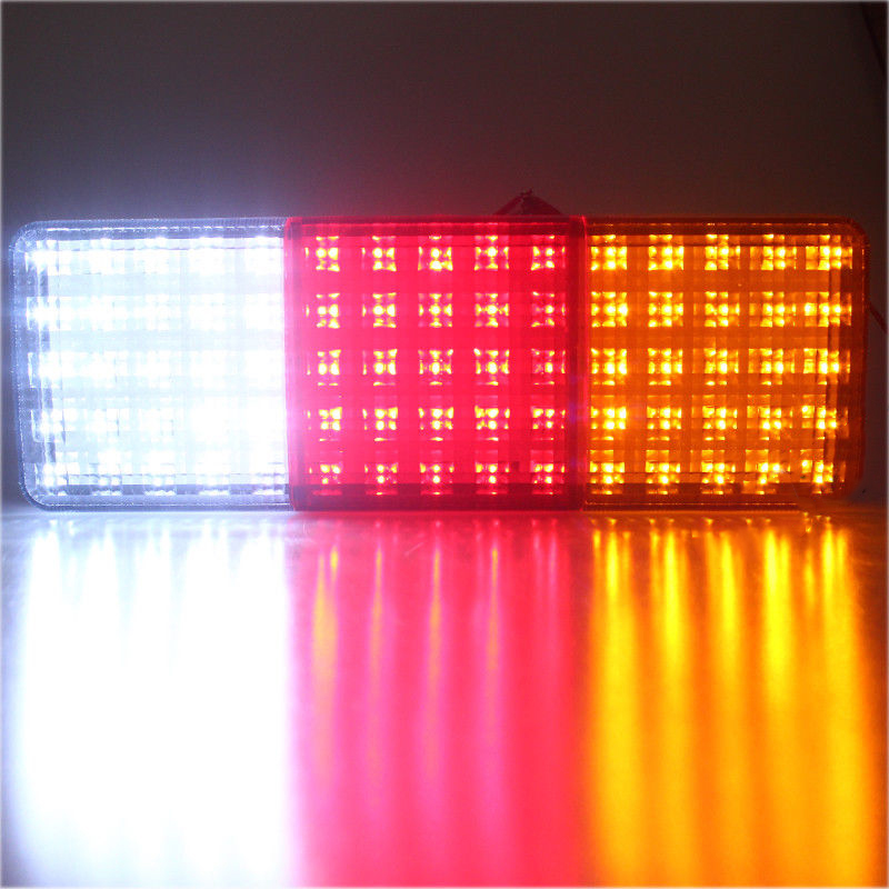 Car Vehicle Tail Light 12V Super Bright 75-LED Trailer Truck Rear Replacements image