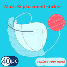 Disposable Mask pad, non-woven masks, stickers, adult unisex protective masks, dust and fog protection