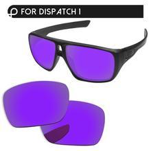Papaviva Плазменные фиолетовые зеркальные поляризованные Сменные линзы для отправки 1 OO9090 Солнцезащитные очки Рамка UVA& UVB защита