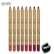 IMAGIC Professional Multi-functional Lipliner Pencil Long Lasting Waterproof Lip Cosmetics Makeup Colorful Liner