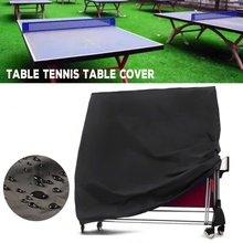 Waterproof Folding Ping Pong Tennis Table Protective Cover Heavy Duty Proof Storage Covers Dust For Garden